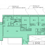 Sky Habitat Floor Plans :: 4 Bedroom Terrace Unit
