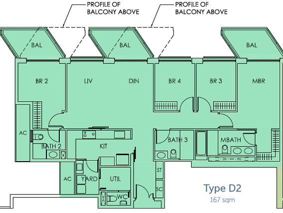 Sky habitat floor plans sky habitat condo floor plan for Plans com