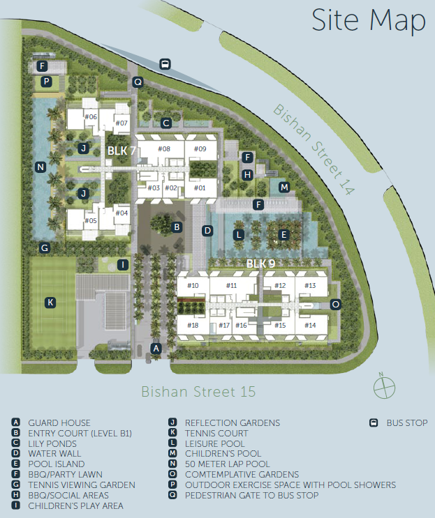 Sky Habitat Site Plan Layout