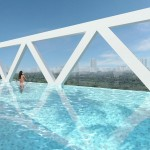 Sky Habitat Showflat :: 38th Floor Sky Bridge Lap Pool