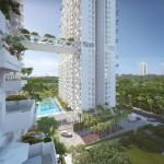 Sky Habitat Showflat :: Landscaped Deck